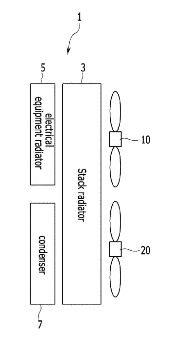 Cooling fan control method for vehicle