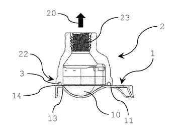 Method for transporting a packaging shell of an ophthalmic lens package