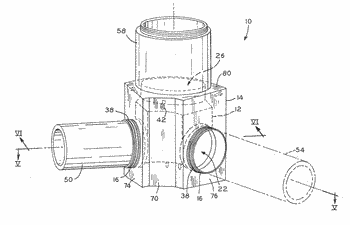 Manhole base assembly with internal liner and method of manufacturing same
