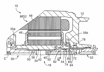 Power transmission system for vehicle