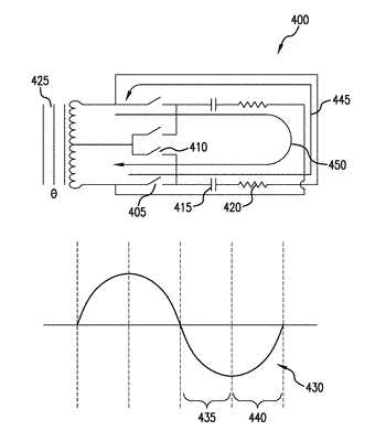 Switched energy resonant power supply system