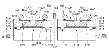 Semiconductors, packages, wafer level packages, and methods of manufacturing the same