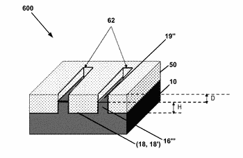 Method of producing a pre-patterned structure for growing vertical nanostructures