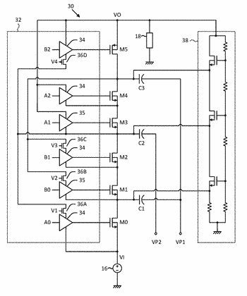 Switched-capacitor converters with low-voltage gate drivers