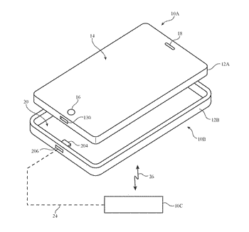 Accessory case for wireless electronic device
