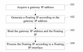 Method and apparatus for processing public ip