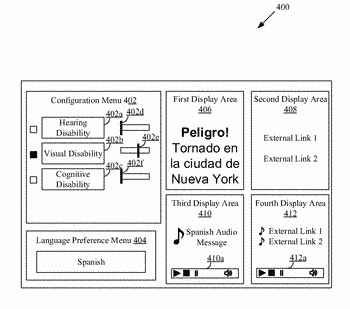 System and method to communicate an emergency alert message