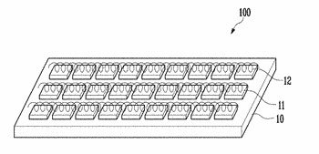 Stretchable electronic device and method of fabricating the same