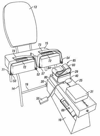 Apparatus for treating knee abnormalities