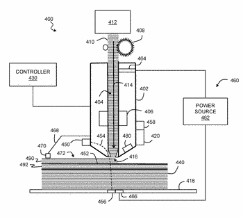 Layer-forming nozzle exit for fused filament fabrication process