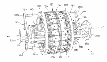 Process and drum for looping annular anchoring structures in a process for building tyres for ...