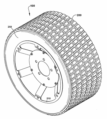 Non-pneumatic tire with geodesic connecting web