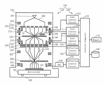 Multiple charged particle beam apparatus