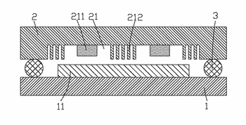 Oled package structure and oled packaging method