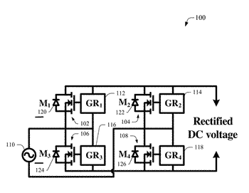 Self-driven ac-dc synchronous rectifier for power applications
