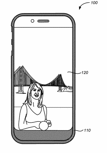Reversible mobile device case with integrated display