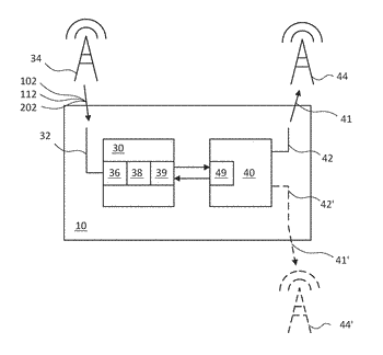 Method for sharing a wireless transmission medium in a terminal device and wireless communication device ...