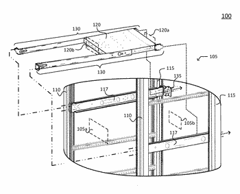 Reverse mount apparatus for a rack-mounted systems