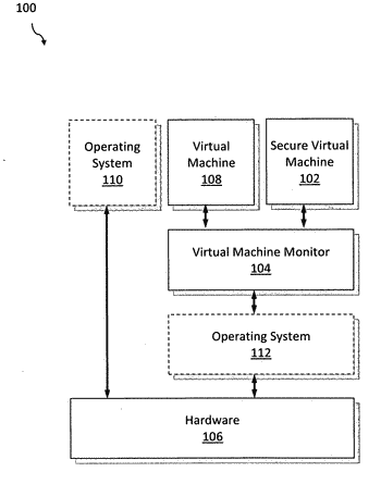 Fast switching between virtual machines without interrupt virtualization for high-performance, secure trusted-execution enviornment