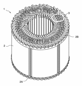 Rectangular wire stator coil manufacturing method