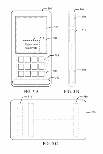 User identification in cell phones based on skin contact