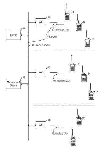 Relaying device, communication relaying method and voice communication system