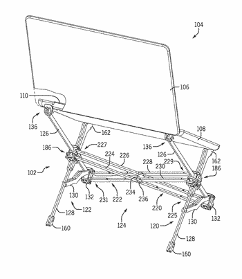 Stand for supporting a computing device
