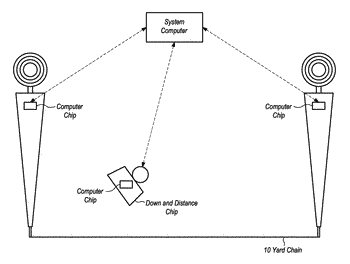 Sports game ball tracking system and method