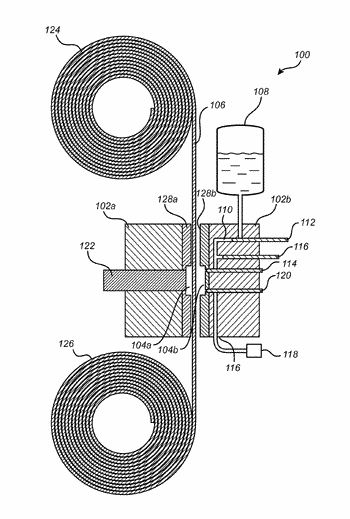Method and apparatus for infiltration of a micro/nanofiber film