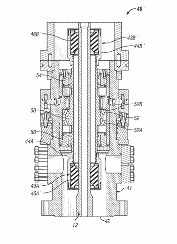 Rotating control device