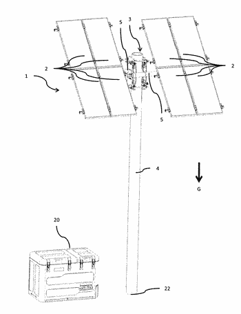 Fastening device for fastening at least one solar collector, method for fastening a solar collector, ...
