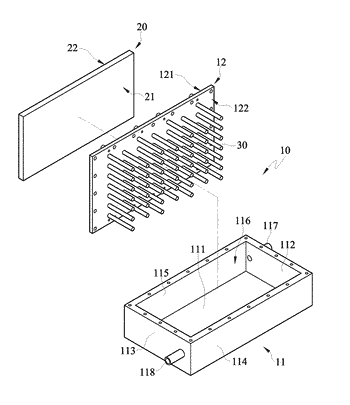 Heat dissipation device and thermoelectric cooling module thereof