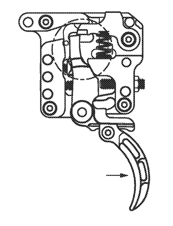 Multi-stage trigger mechanism for firearm