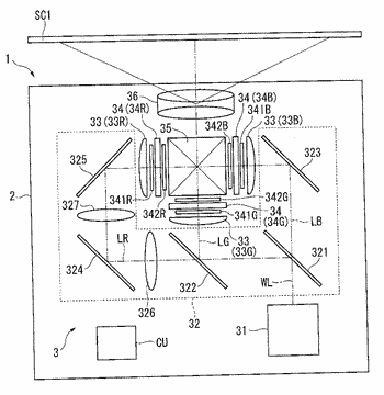 Polarization converting element, light source device, lighting device, and projector