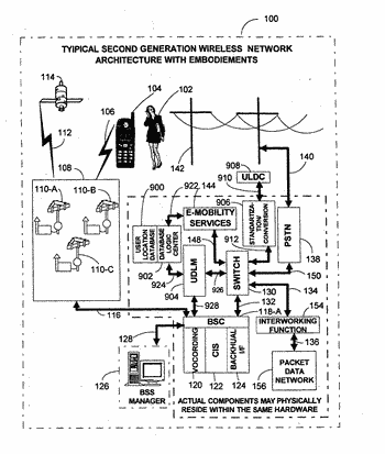 Mobile wireless communications system and method with hierarchical location determination