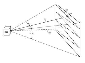 Lidar system with distributed laser and multiple sensor heads