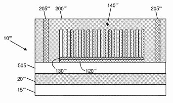Integrated circuit heat dissipation using nanostructures