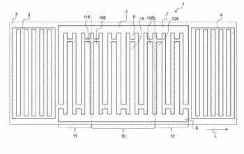 One-port resonator operating with surface acoustic waves