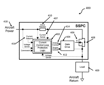Solid state power controller for aerospace led systems