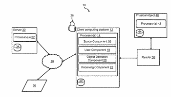 Systems and methods for providing a video game using information stored by physical objects
