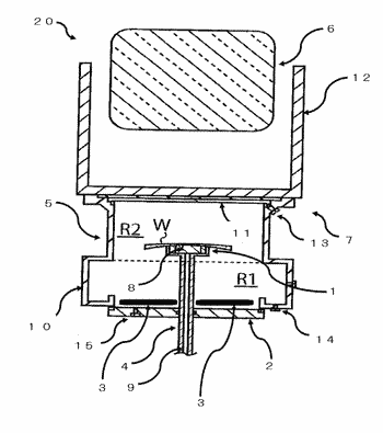 Photopolymerization device and production method for lens that has photochromic coating layer