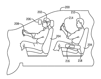 System and method for dynamic in-vehicle virtual reality
