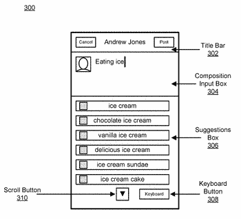 Determining phrase objects based on received user input context information