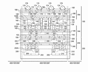 Backside contacts for integrated circuit devices