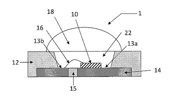 Semiconductor light-emitting device and optical-semiconductor-mounting substrate