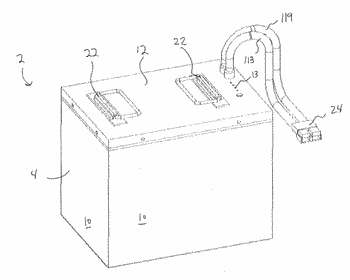 Repairable battery pack device and method of use