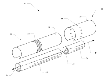 Capsule object rupture testing system and associated method