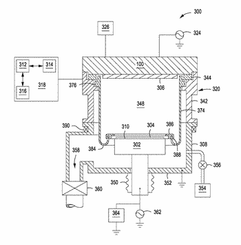 Sputter source for semiconductor process chambers