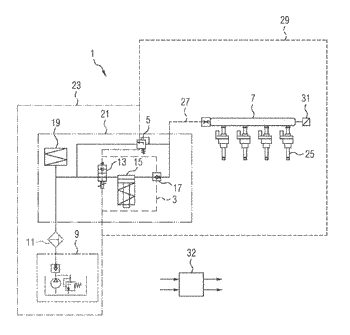 Fuel-supply system for an internal combustion engine