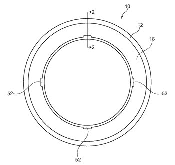 Axial roller bearing assembly having a spring plate